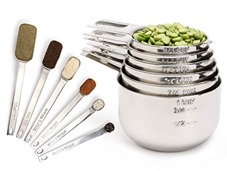 Measuring Cups and Measuring Spoons Set
