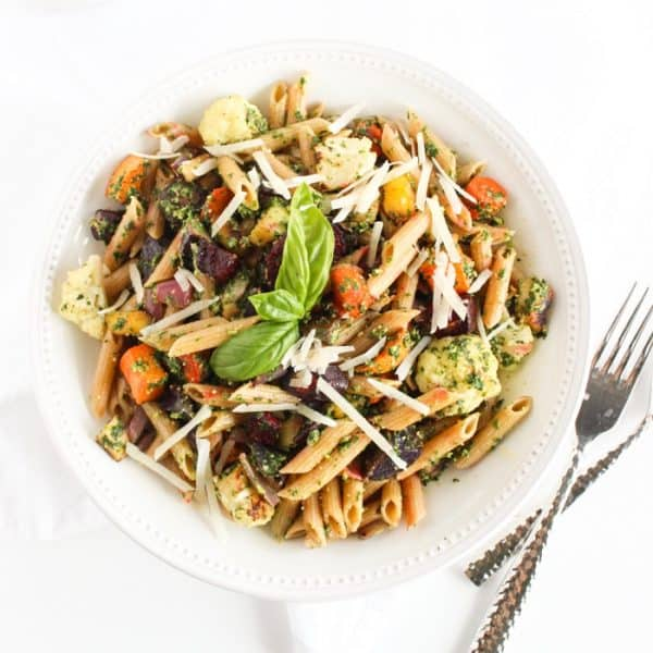 Wednesday: Roasted Root Vegetable Pasta