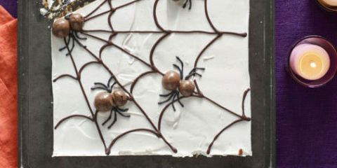 Best Candy Cobwebs Recipe - How to Make Halloween Spider Bark