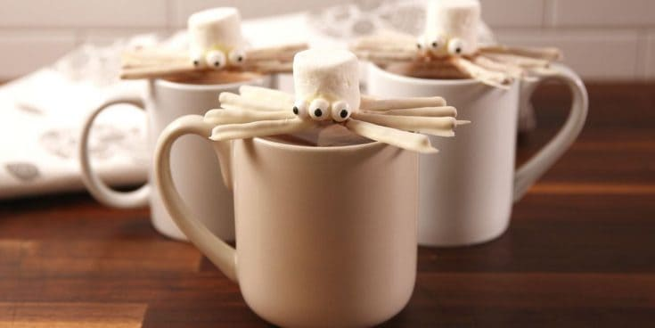 Best Halloweentown Marshmallow Spider Recipe