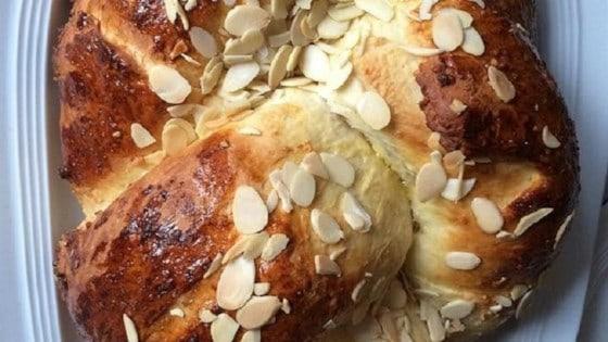 Marzipan Christmas Kringle (Juleskringle) Recipe