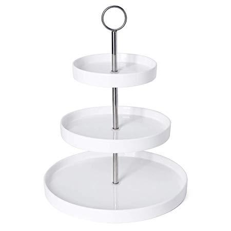 Modern 3-Tier Porcelain Buffet Server