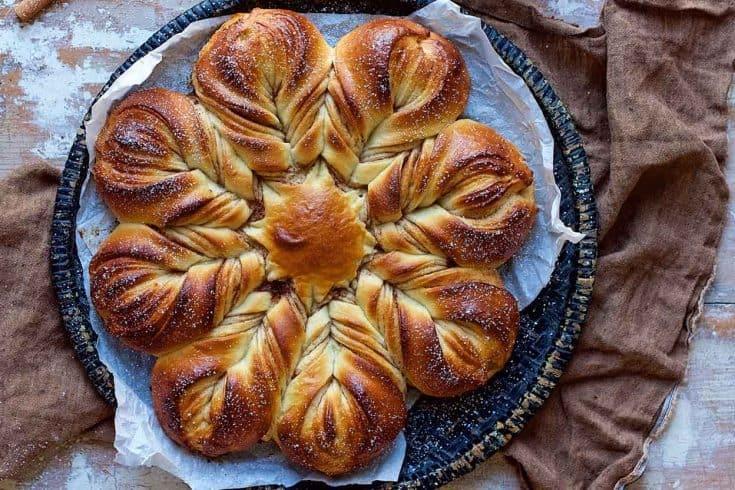 Cinnamon Star Bread   King Arthur Flour