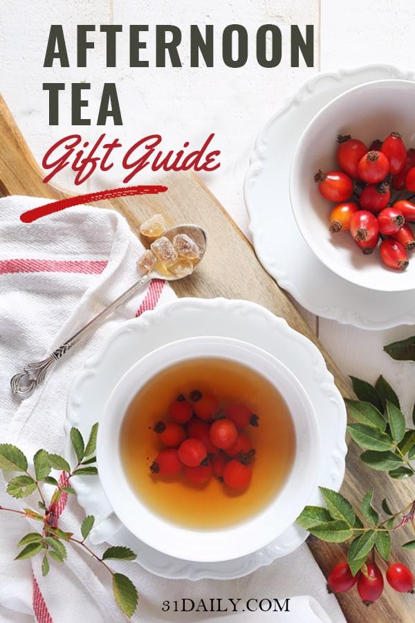 Pinterest Pin for Tea Gift Guide