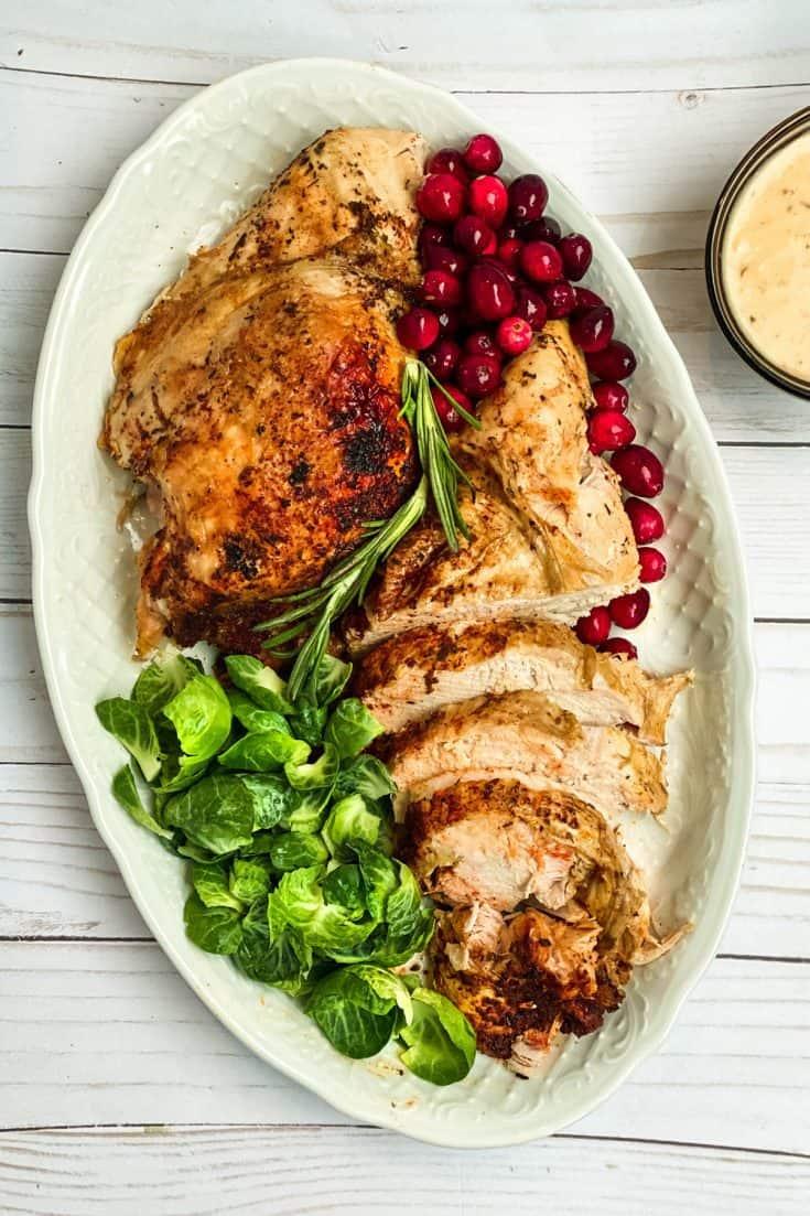 Easy Instant Pot Turkey Breast with Gravy