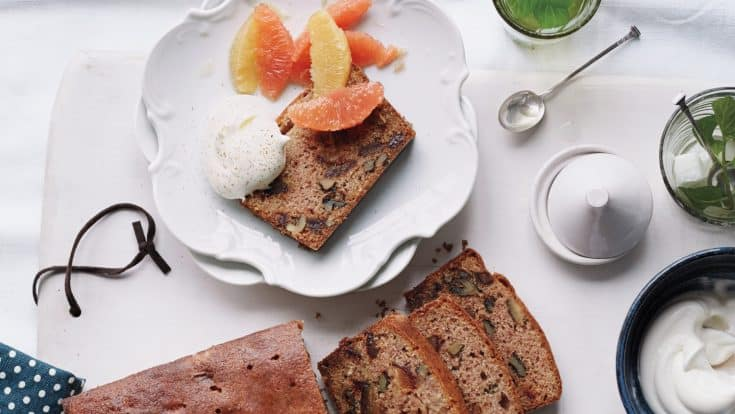 Date Cake with Orange-Blossom Syrup