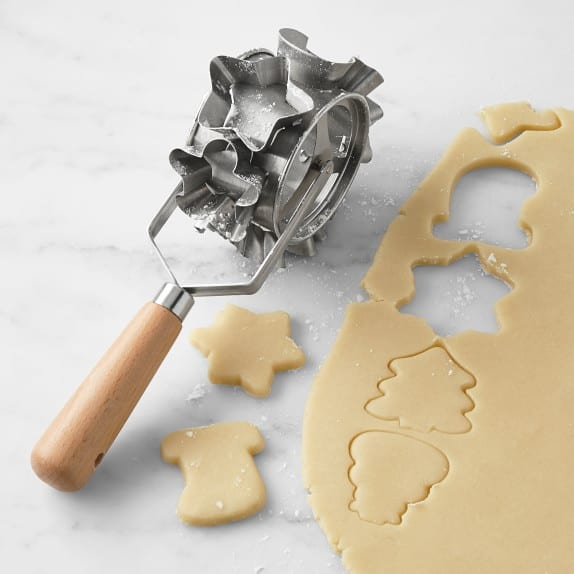 Williams Sonoma Holiday Rolling Cookie Cutter