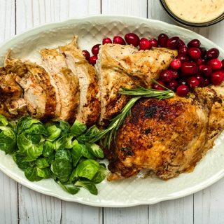 Easy Instant Pot Turkey Breast with Gravy