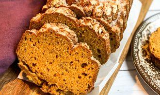Bountiful Harvest Sweet Potato Bread