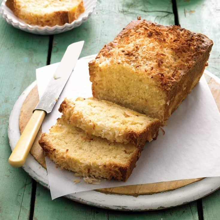 Coconut-Pineapple Loaf Cake