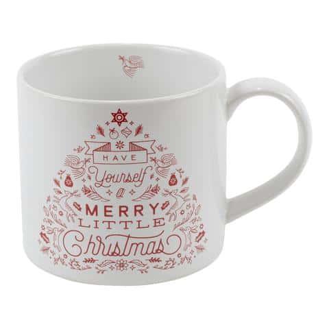 Merry Little Christmas Mug in Gift Box