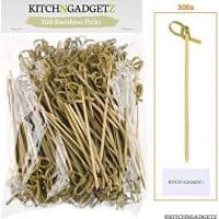 Bamboo Appetizer Picks - 300 Pack