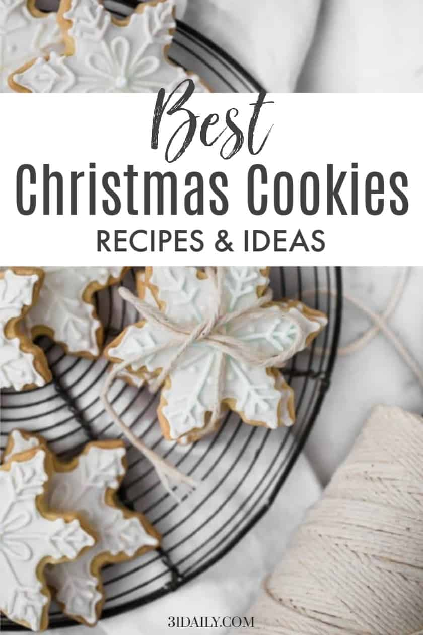 Pinterest Pin for Best Christmas Cookies Recipes
