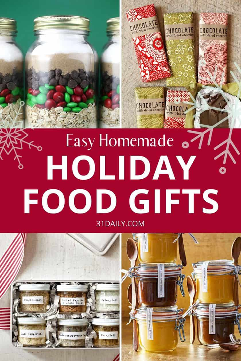 Pinterest Pin Homemade Food Gifts