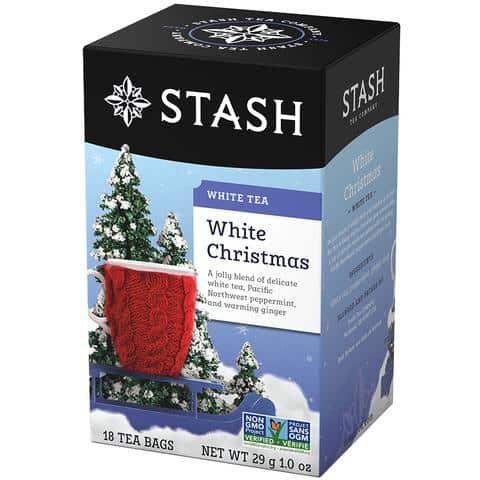 White Christmas White Tea