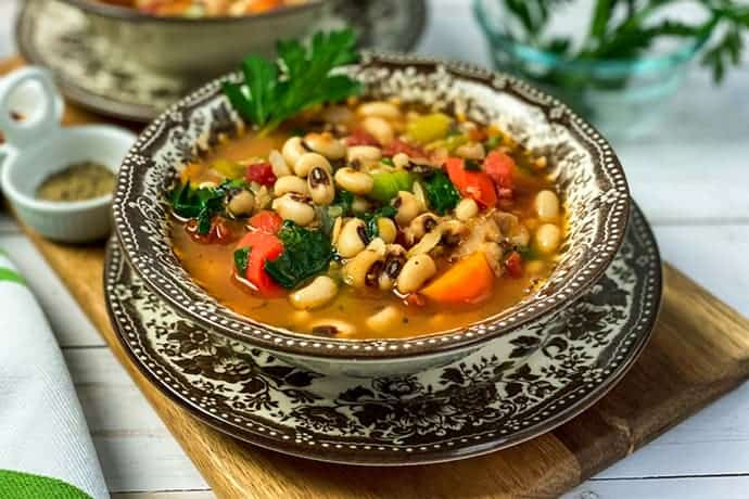 New Year S Day Black Eyed Peas Soup 31 Daily