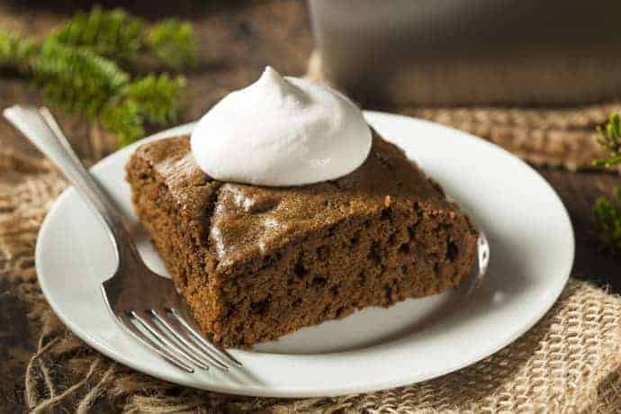 Easy Gingerbread Cake