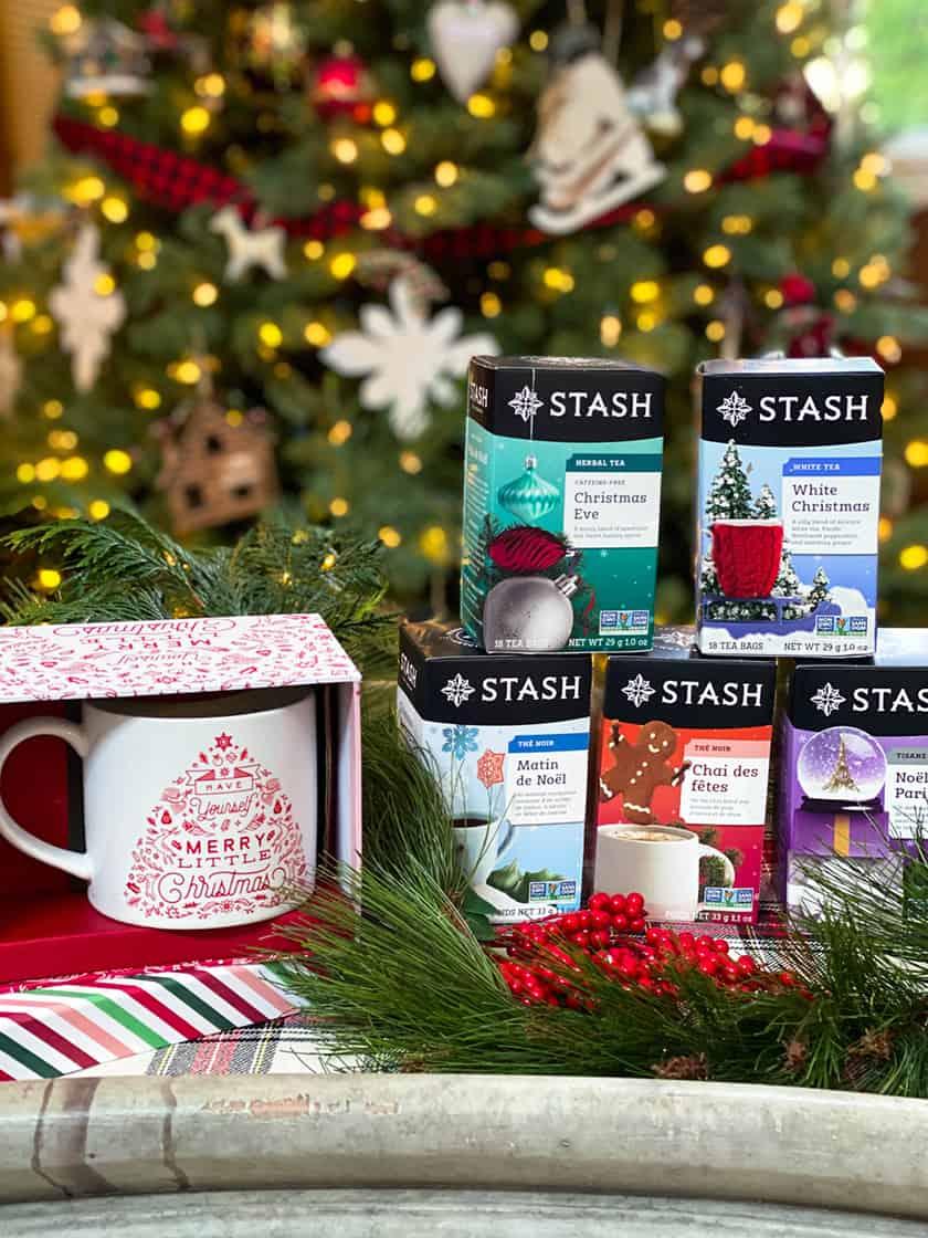Stash Holiday Teas and Merry Christmas Mug