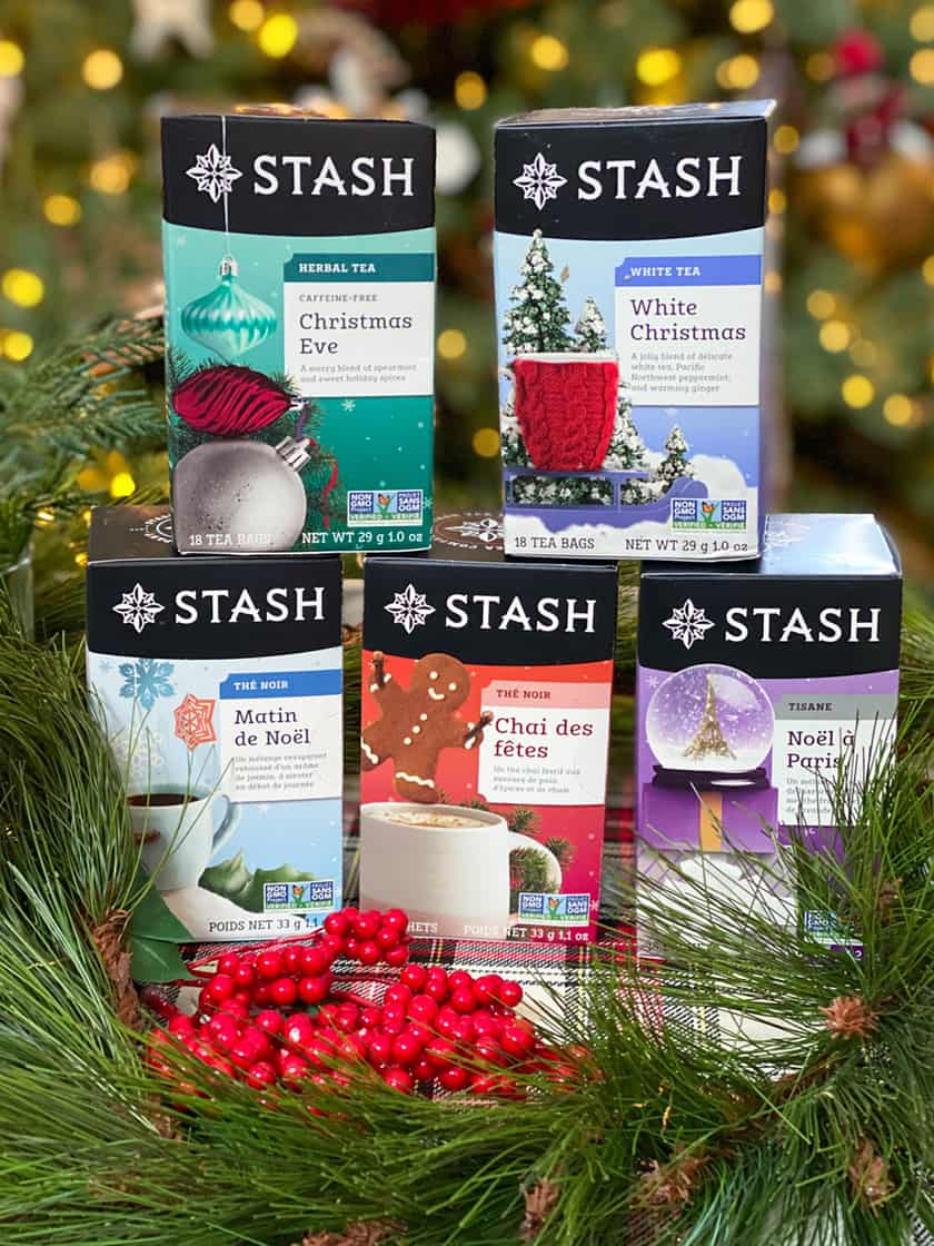 Collection of Holiday Teas from Stash Tea