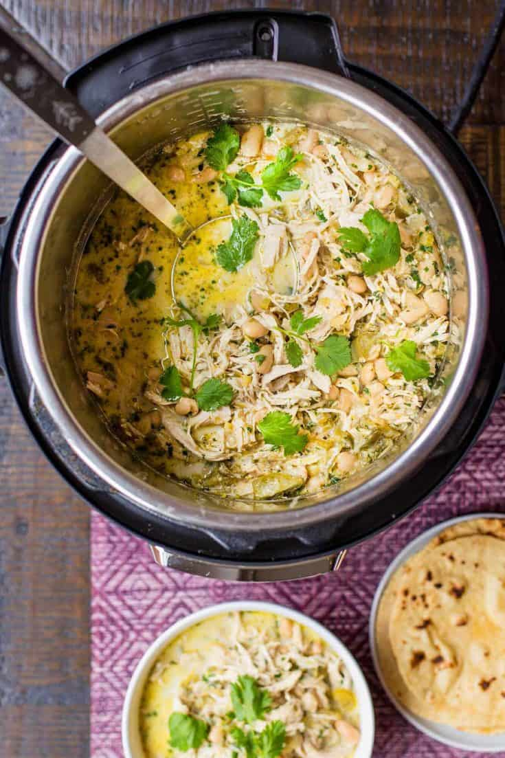 Tuesday: Instant Pot White Chicken Chili