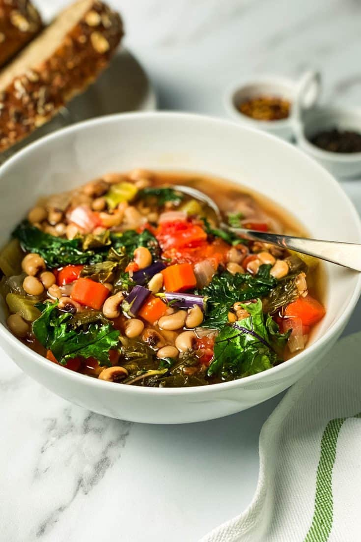 Monday: Slow Cooker Ikarian Stew with Black Eyed Peas