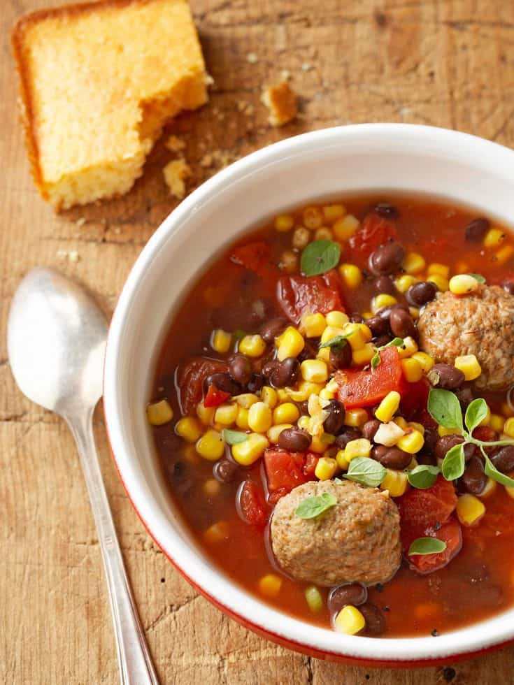 Tuesday: Mexican Meatball Stew