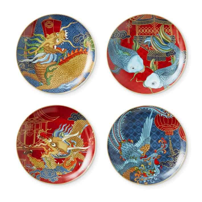 Lunar New Year Appetizer Plates