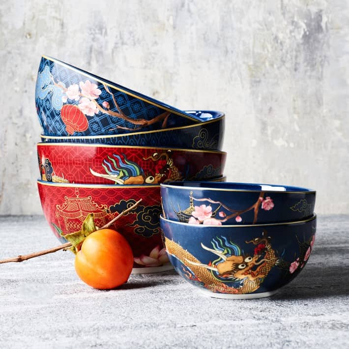 Lunar Mixed Noodle Bowls