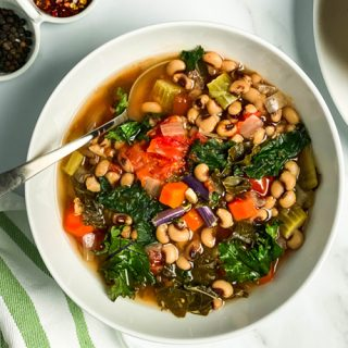 Slow Cooker Ikarian Stew with Black Eyed Peas