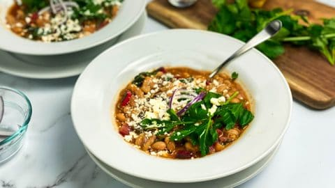 White Bean Stew with Swiss Chard