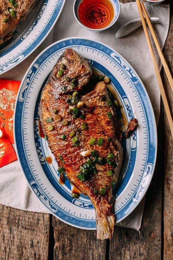 Pan Fried Fish - Chinese Whole Fish Recipe
