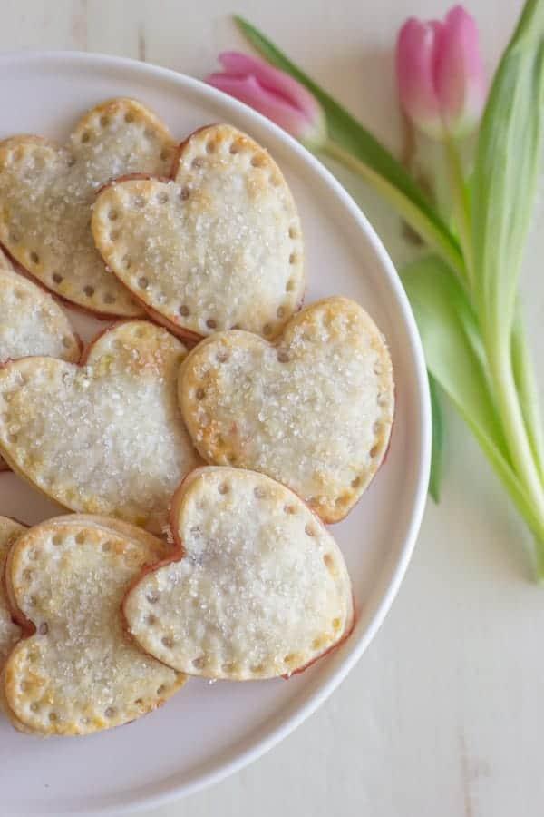 Strawberry Pie Hearts - Lovely Little Kitchen