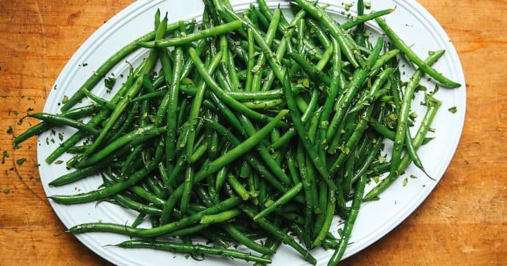 Herbed Haricots Verts Recipe
