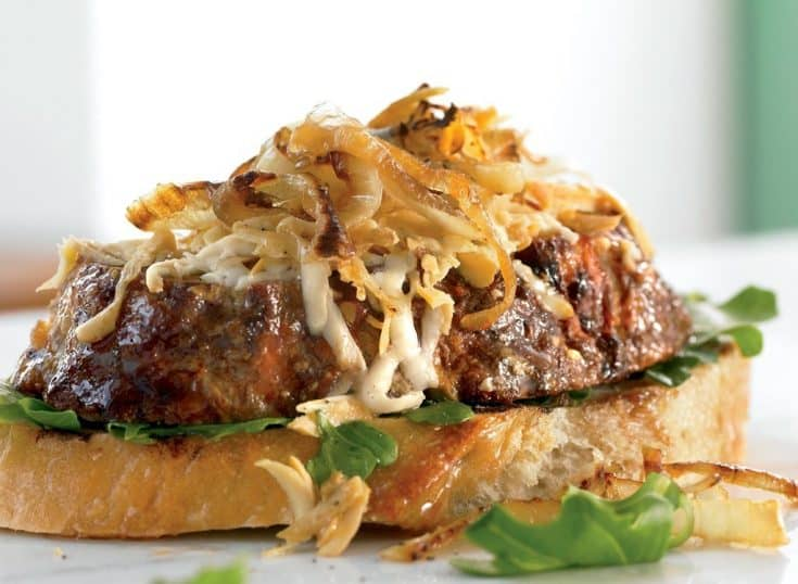 Friday: Healthy Meatloaf Sandwiches