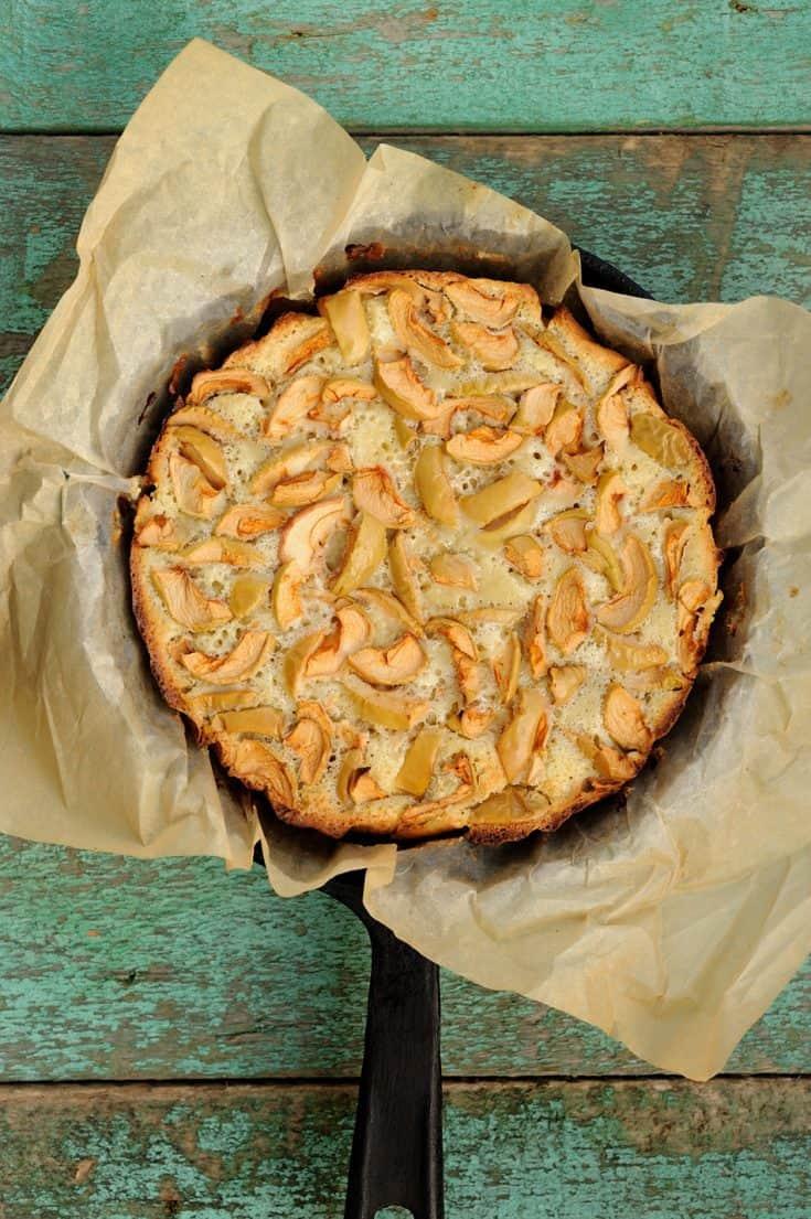 Ireland Tradition: A Cast Iron Irish Apple Cake