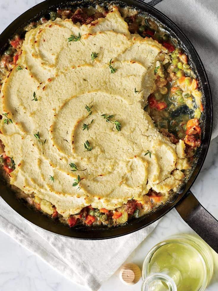 Thursday: GF Spring Vegetable Shepherd's Pie