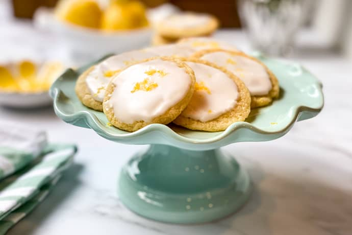 Easy Butter Lemon Tea Cookies
