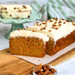 Easy Carrot Cake Loaf