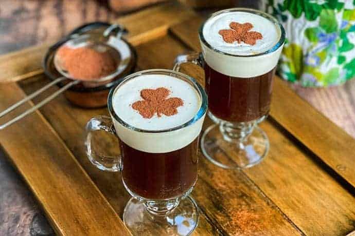 2 Easy Non Alcoholic Irish Coffee