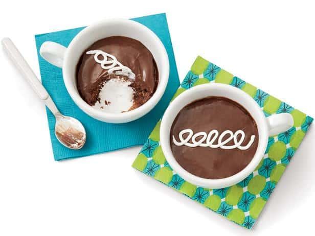 Chocolate-Marshmallow Mug Cakes