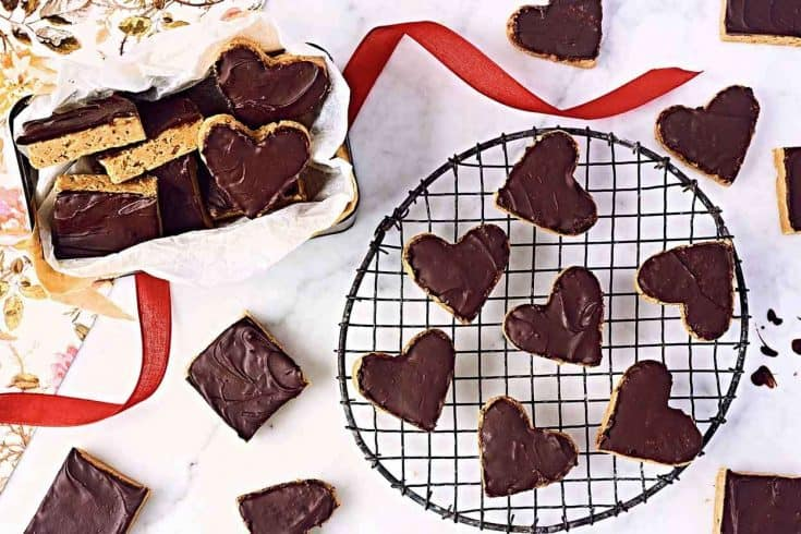 No-Bake Peanut Butter-Chocolate Squares