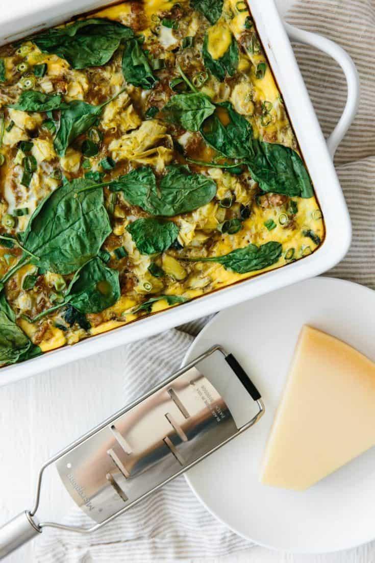 Healthy Breakfast Casserole (gluten-free, paleo)