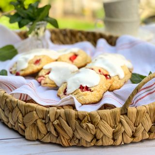 Strawberry Scones: Rustic Summer Scones with Tea