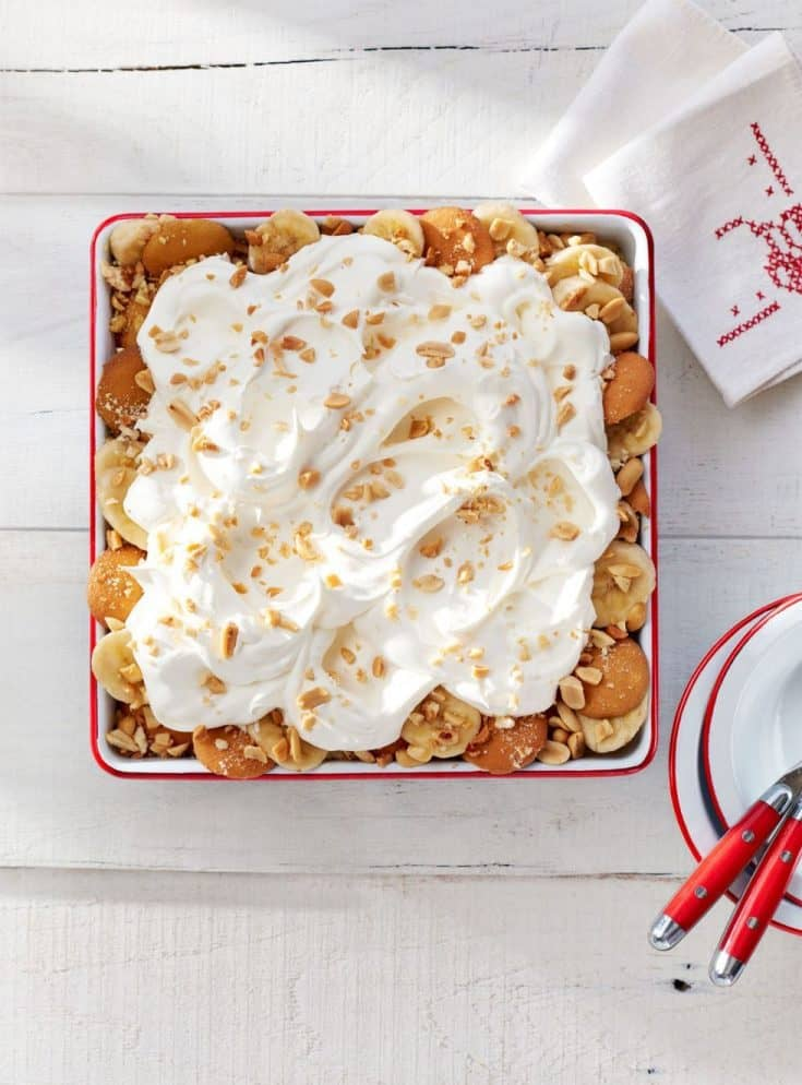 Salty Peanut Banana Pudding