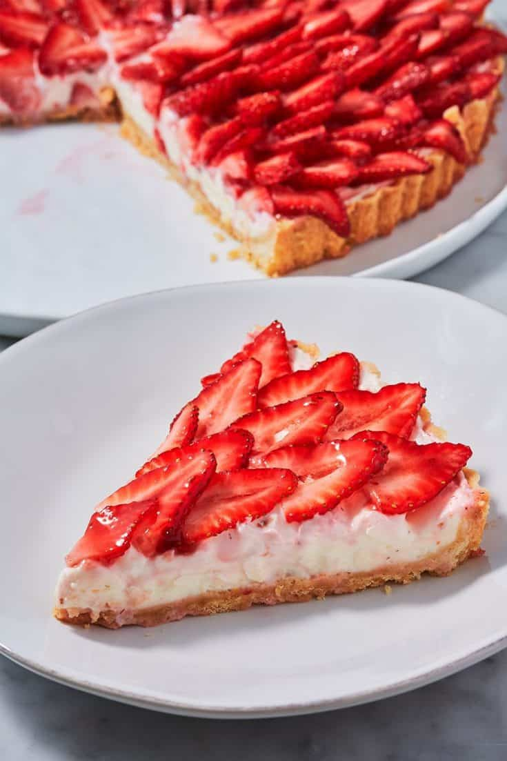 Best Strawberry Tart Recipe - How to Make Strawberry Tart