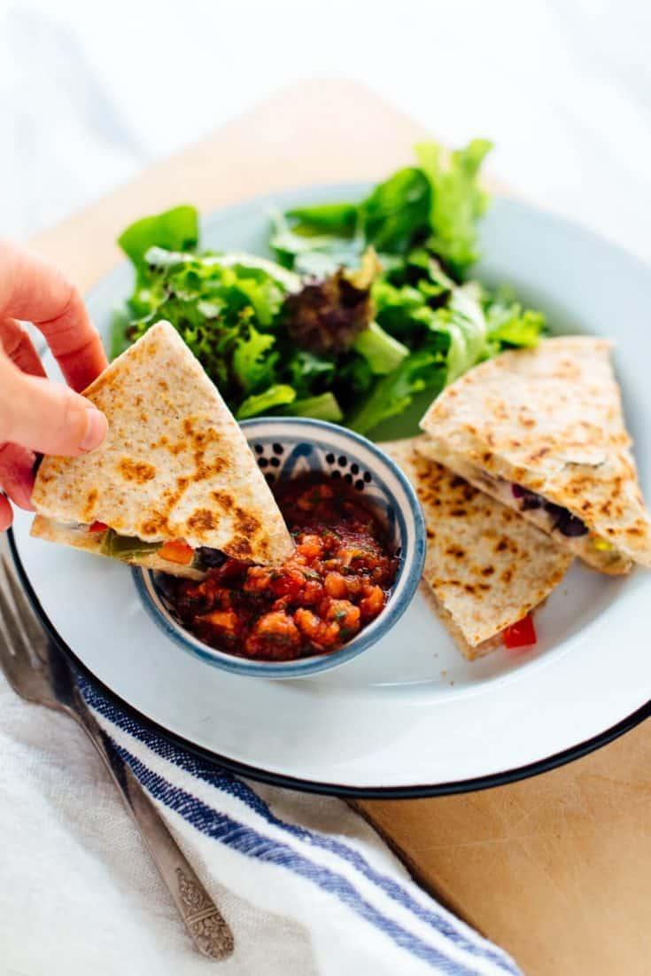 Monday: 10-Minute Quesadillas Recipe