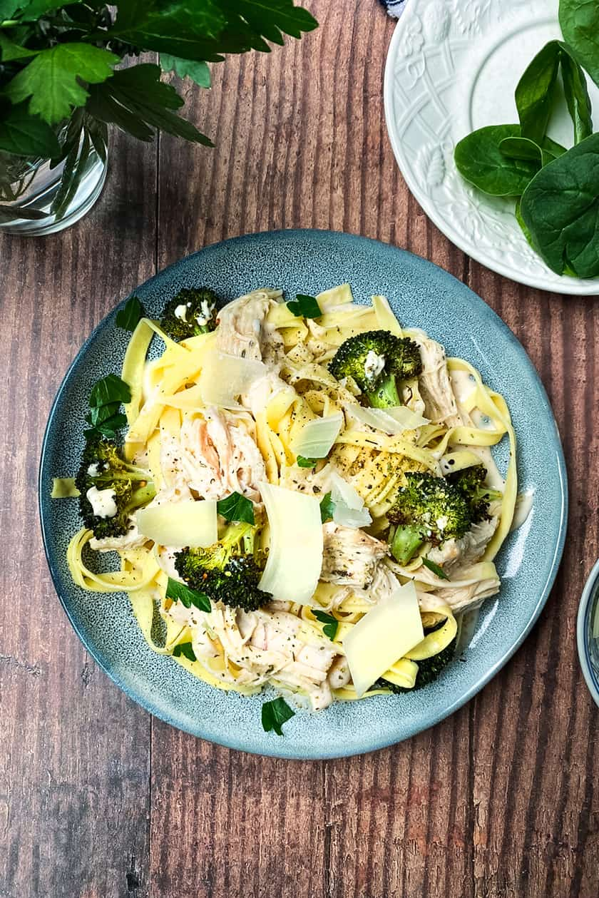Chicken Broccoli Fettucini for 6 Super Easy Recipes with Weber Seasoning