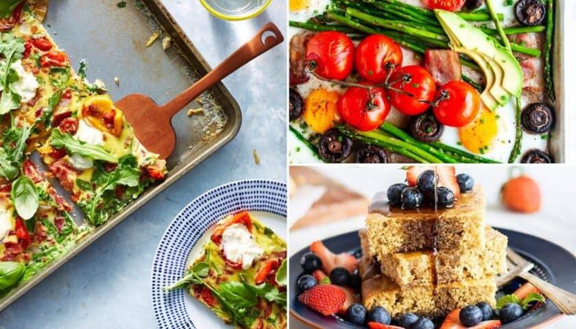 Easy Sheet Pan Breakfast Recipes