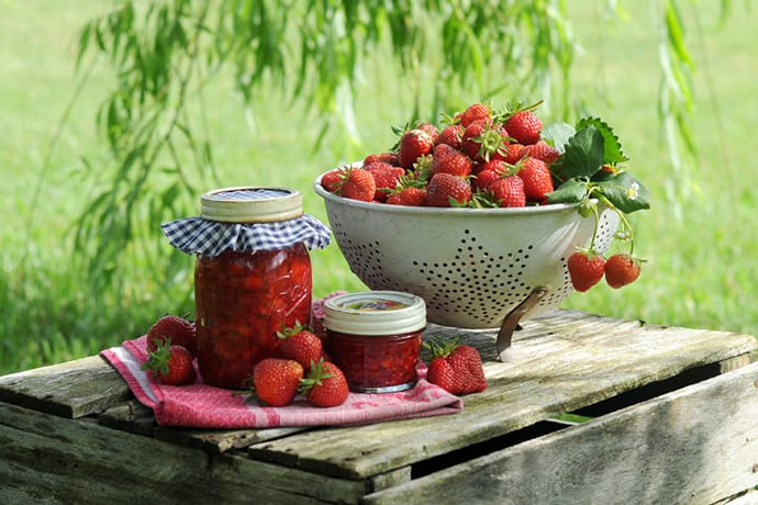 Easy Strawberry Rhubarb Sauce