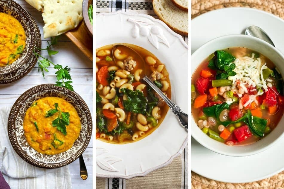 3 Pictures of Instant Pot Soup Recipes